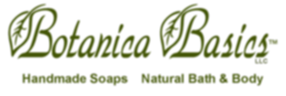 Botanica Basics LLC logo with stylized B/Leaf