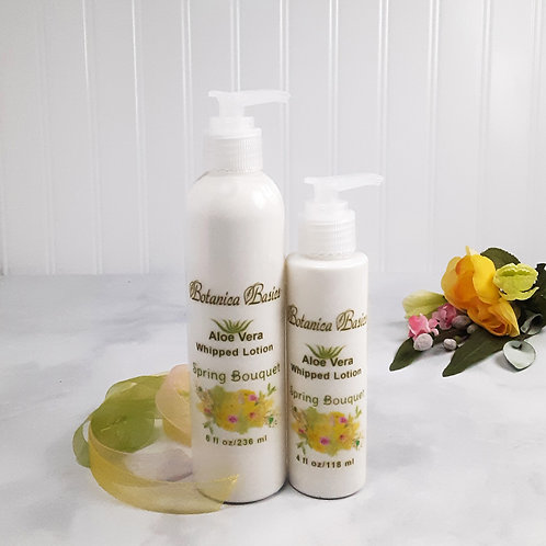 Spring Bouquet Aloe Vera Whipped Lotion