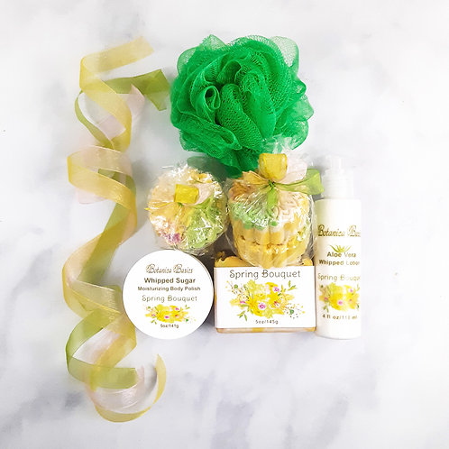 Spring Bouquet Bath Bliss 5 Piece