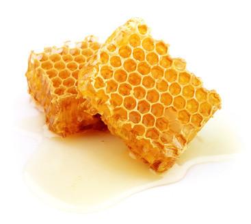 Fotolia; honeycomb, beeswax