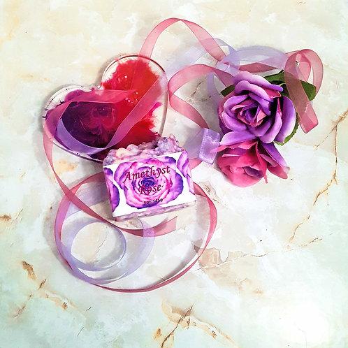 Amethyst Rose Handmade Soap