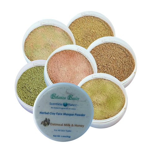 Herbal Clay Face Masque Powders