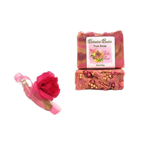 Boho Rose Handmade Soap