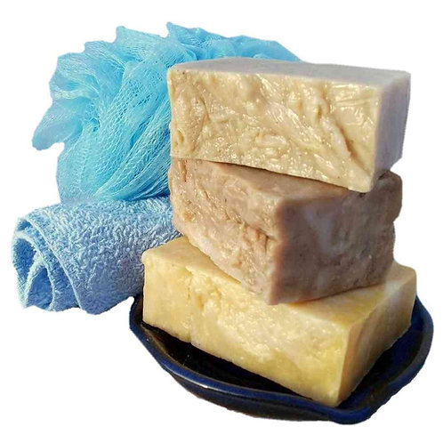 3 or 6 Unfragranced Soap Bars Special