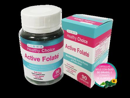 Active Folate – Metilfolato e Ácido Fólico: Entenda a diferença!