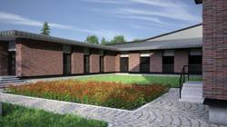 Camlidere, Campus, Courtyard
