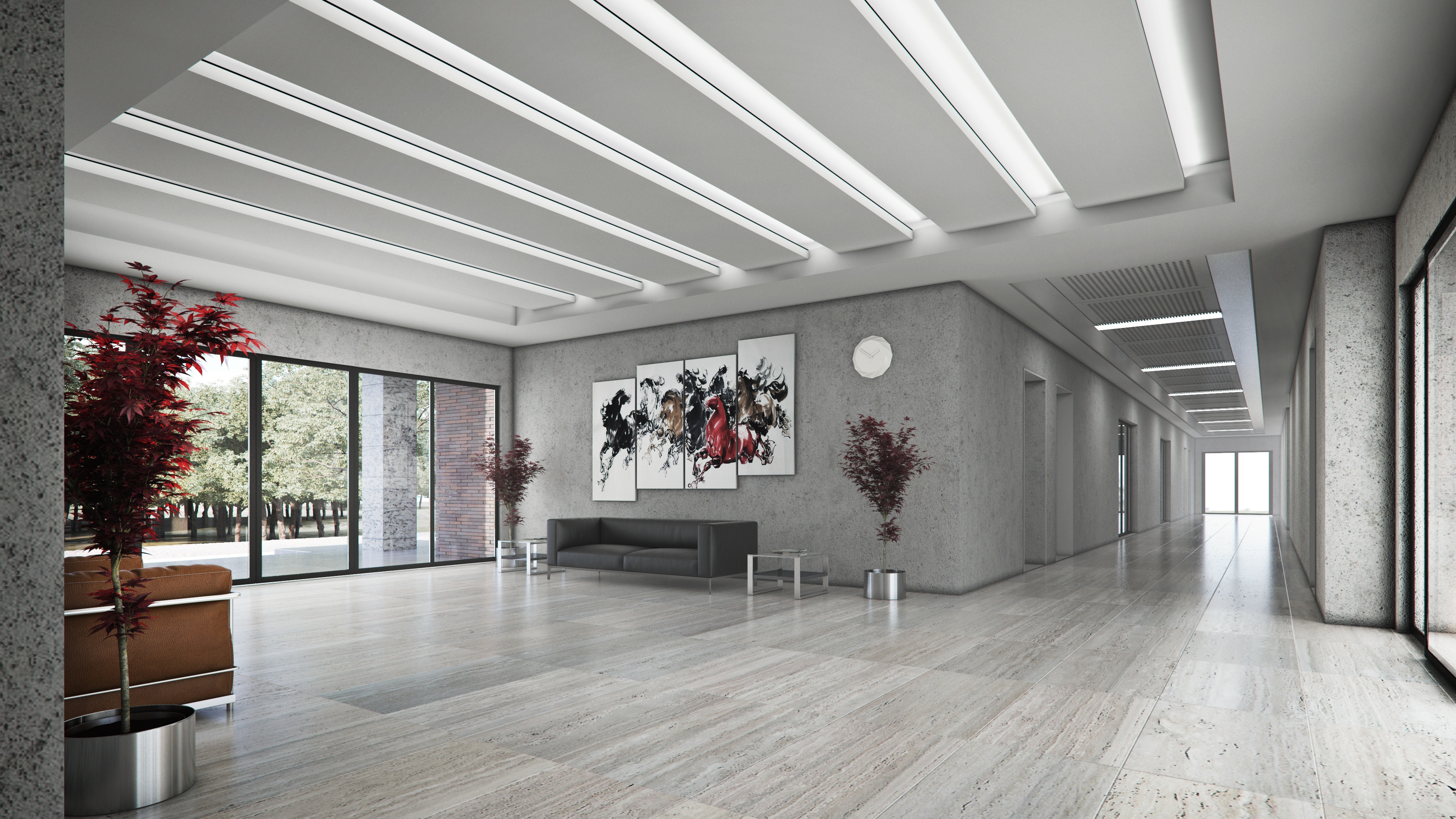 Camlidere, Campus, Lobby