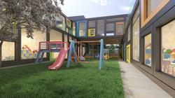 Kindergarten, Courtyard
