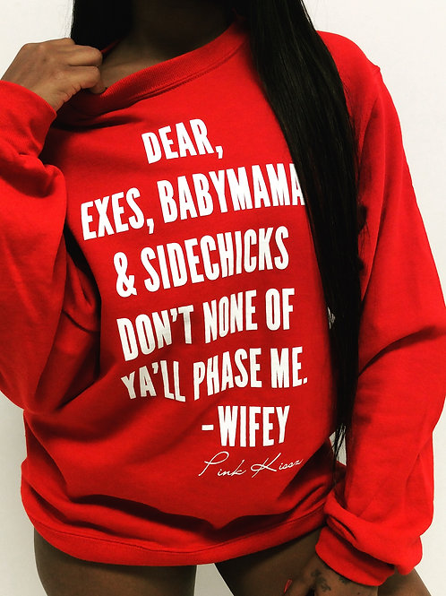 WIFEY CREWNECK