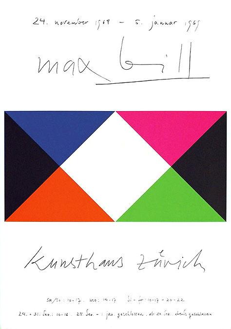 Max Bill Zürich 1969