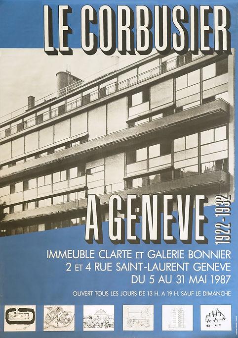 Le Corbusier Genf 1987