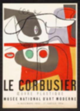 Le Corbusier Plakat 1953