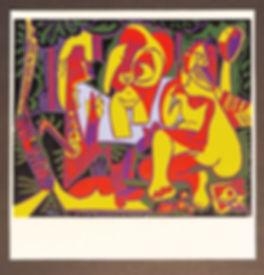 Picasso Linolschnitt