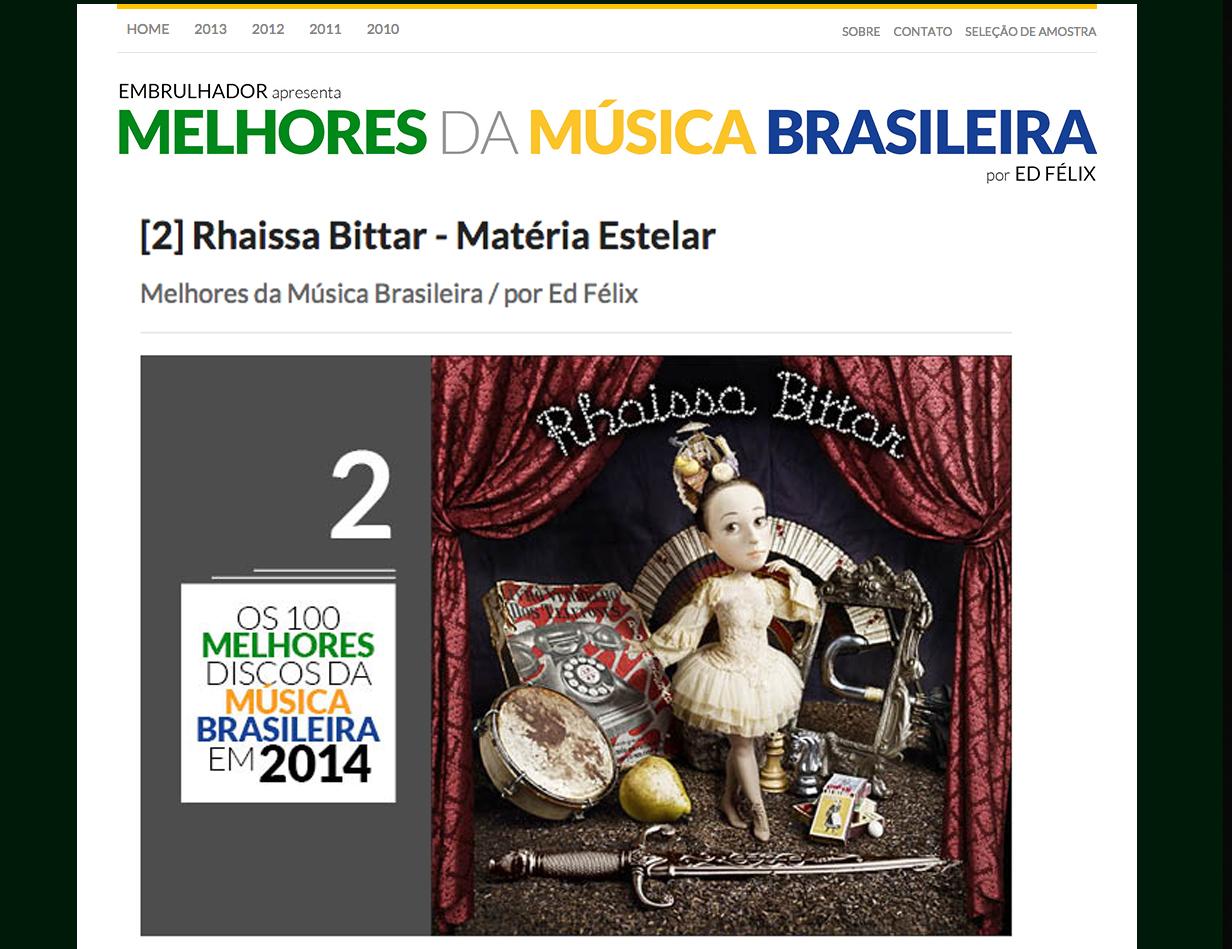 Melhores da Música Brasileira 2014