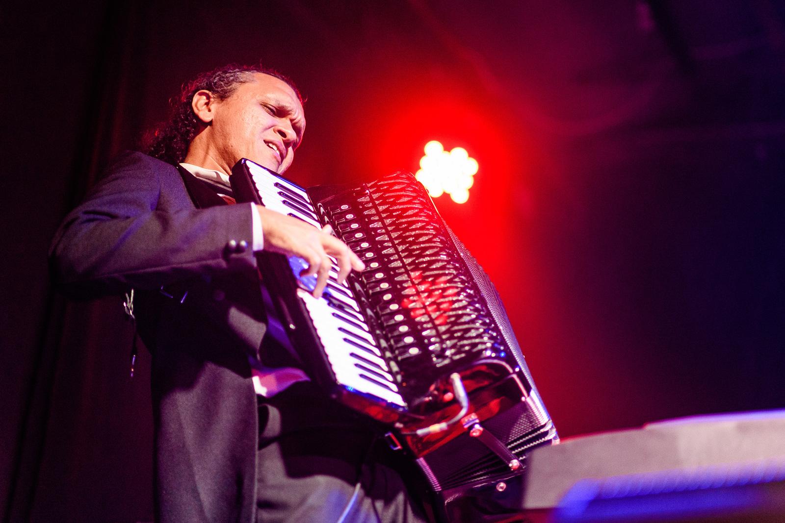 Lulinha Alencar no acordeon