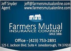 Farmers Mutual Insurance Business Card S