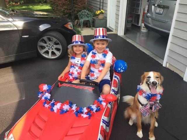 July 4 2017 - Parade Goers