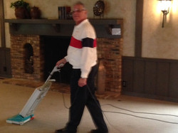July 4 2017 - Who says men can't vacuum - Walt Kreitling