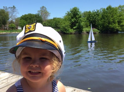 Kids on Lake Prestbury