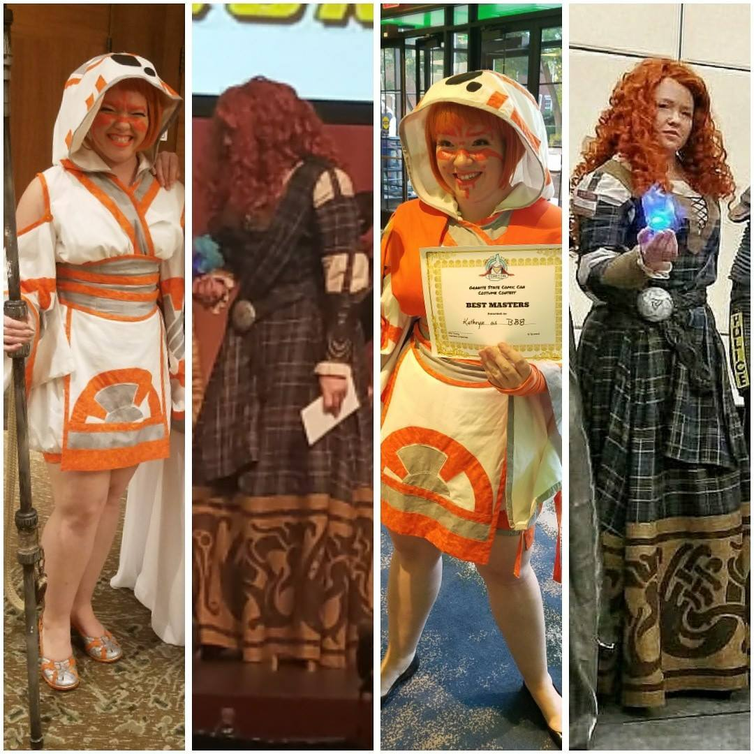 Redfield Design BB8 Cosplay Merida
