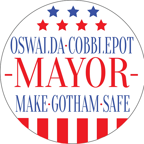 1 Limited Edition Oswald Cobblepot Pin