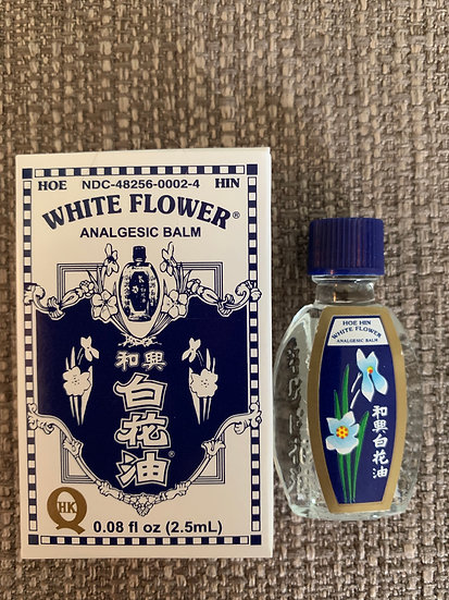 White Flower Oil (0.67 fl. oz. or 20ml)