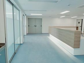 Entrega de la ampliación de la UCI en el Hospital de Granollers