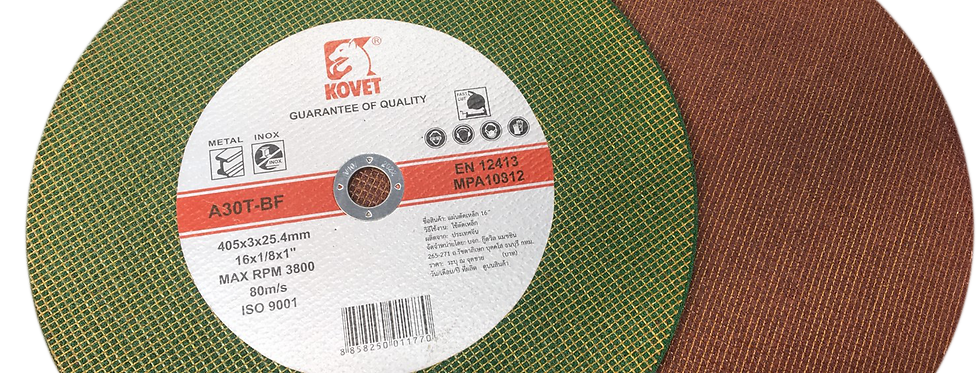 Kovet Cutting Disc (for Metal) green-red