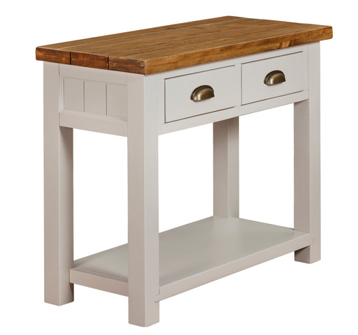 2 DRAWER CONSOLE TABLE K.D | CWRT16