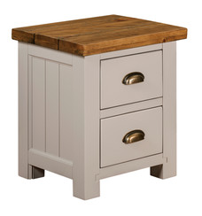 2 DRAWER BEDSIDE TABLE | N-CW03