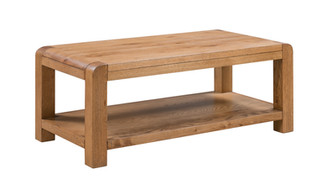 LARGE COFFEE TABLE WITH SHELF | ML 04