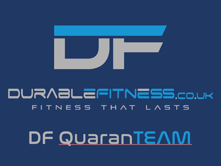 DF QuaranTEAM - November 2020 Lock Down