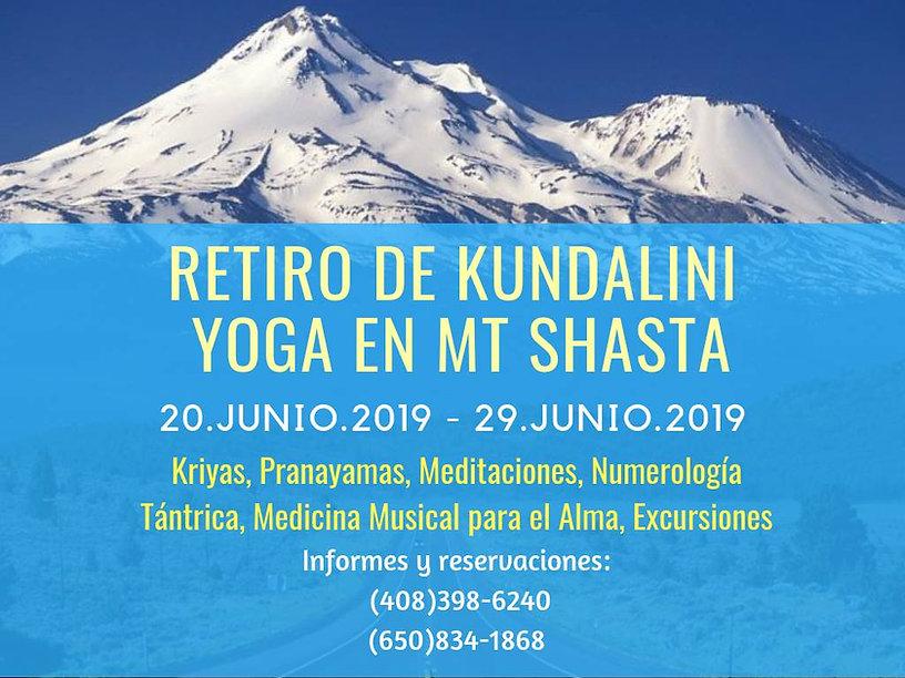 retiro de Solsticio de Verano y Kundalini Yoga
