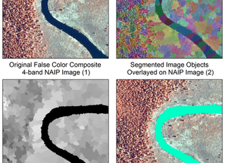 How to perform land cover classification using image segmentation in Python?