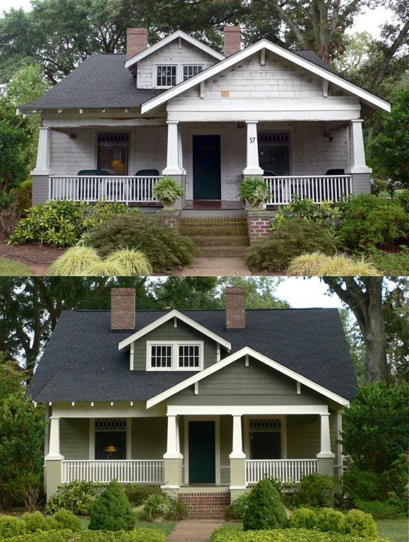 Before and After- The Exterior