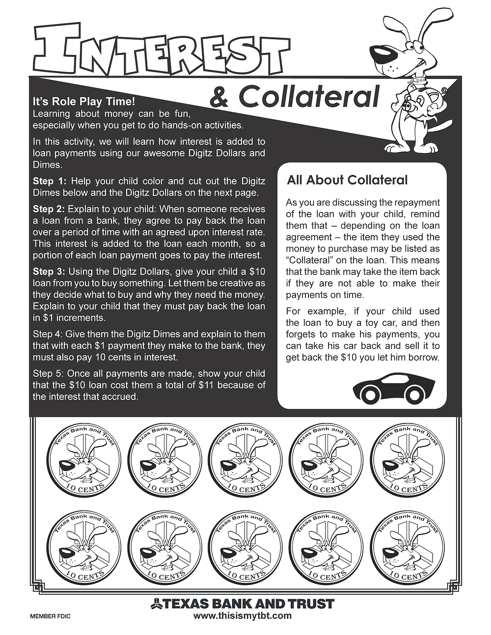 Interest and Collateral