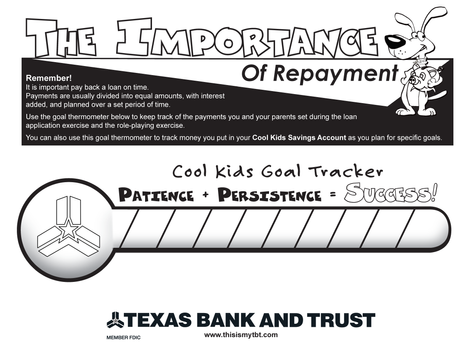 Lesson 5 - Importance of Repayment
