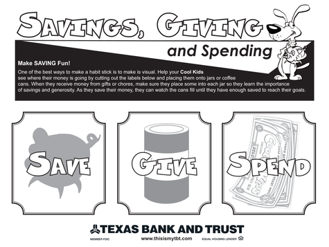 Lesson 2: Savings and Giving