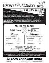 Budget Sheet 3