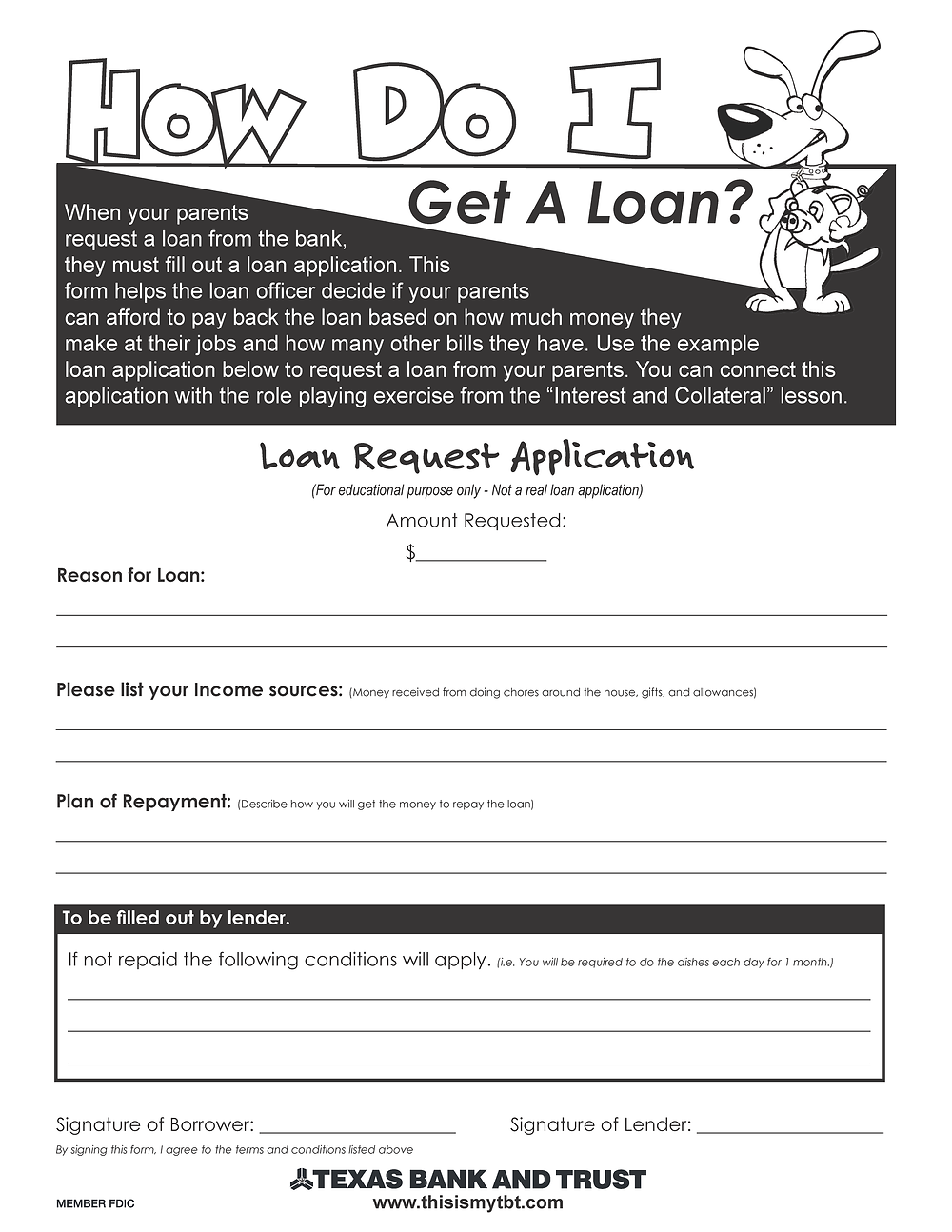 How Do I Get A Loan?