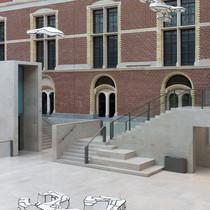 18. Rijksmuseum. Innenansicht Eingangsha