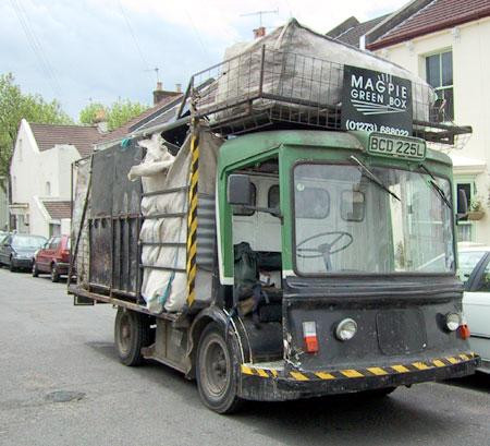 Magpie recycling scheme, eco transport. Sustainability, green news and events in Brighton & Hove