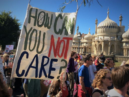 What the climate strike looked like in Brighton