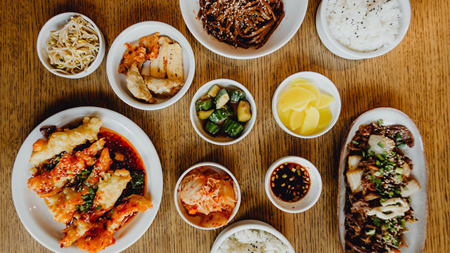 South Korean banchan side dishes. Food waste and sustainability in South Korea