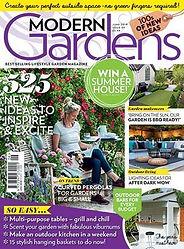 Modern Gardens Magazine cver June 2019
