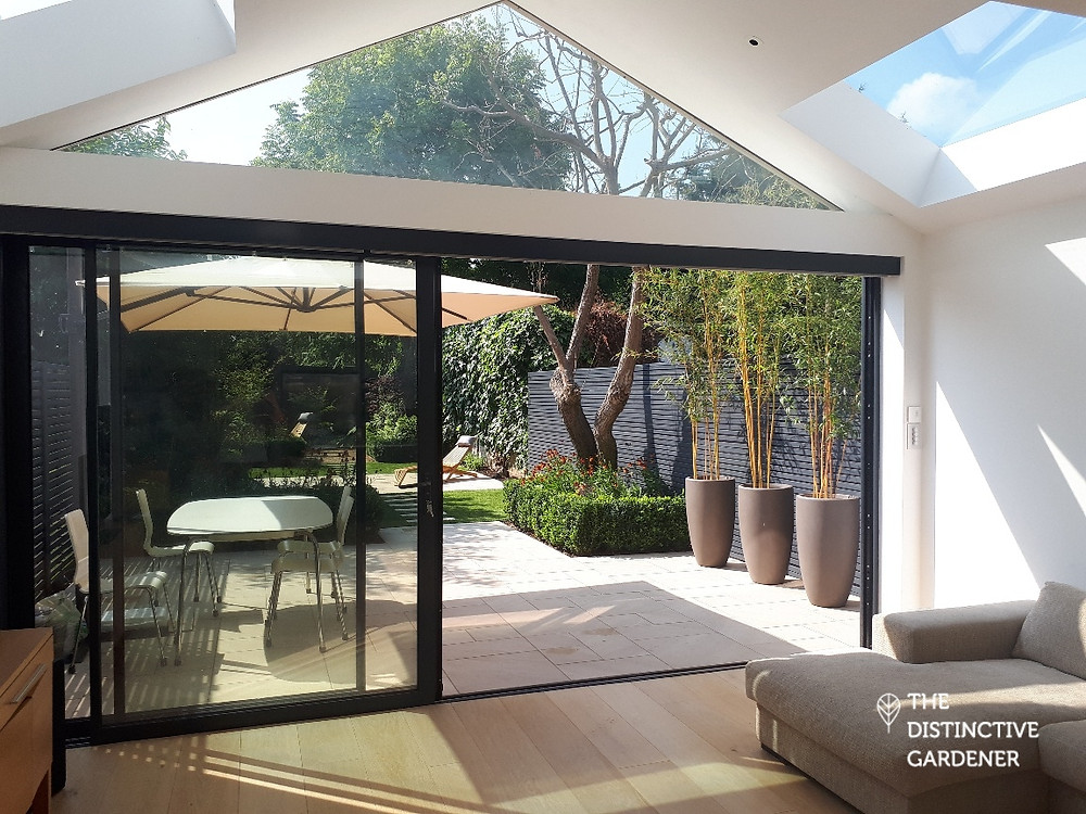 A seamless transition from house to garden