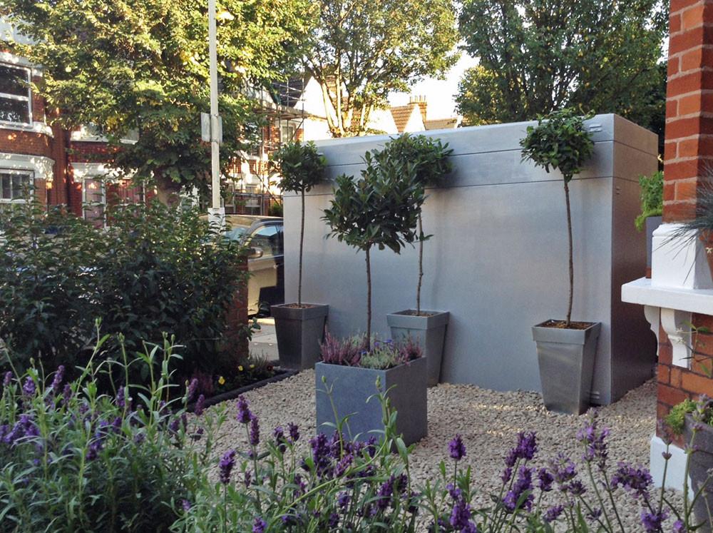 Kilda Street Garden Transformation from Lavender Wall