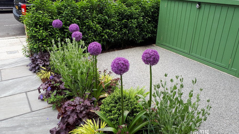 Eco Friendly Front Garden with Parking