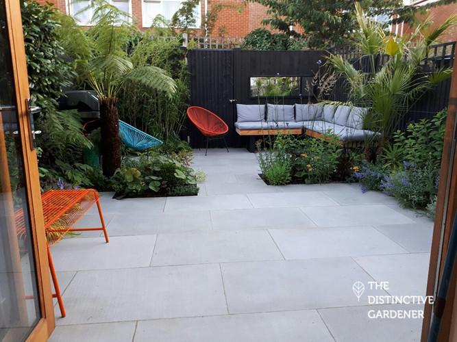 Compact London Courtyard Garden