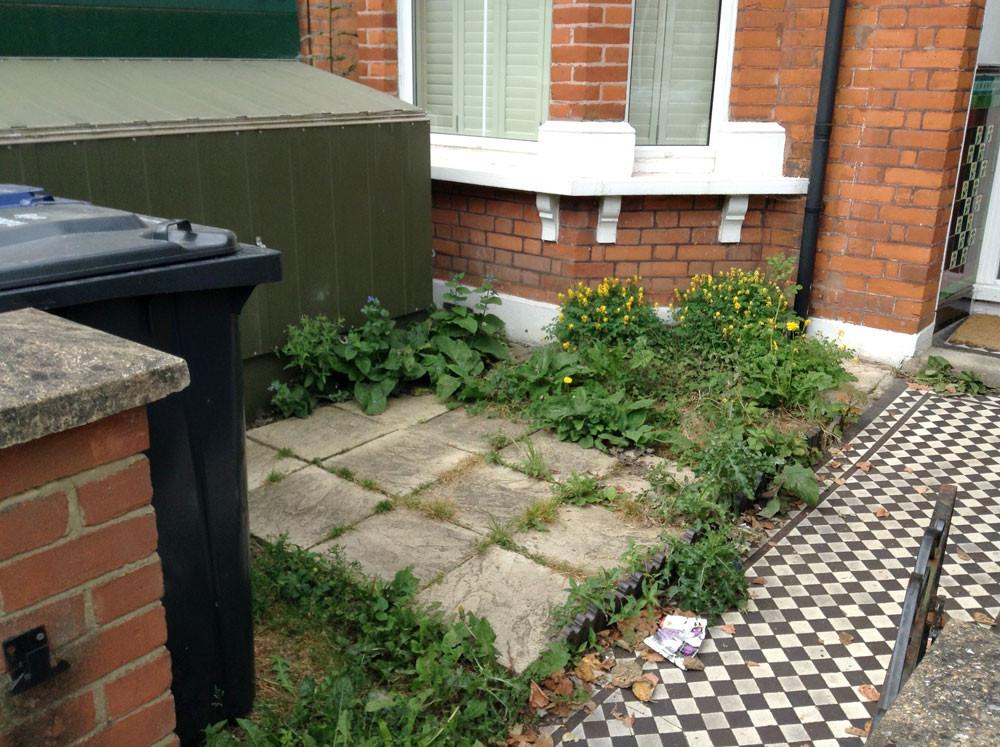 Kilda Street Small Garden Before Transformation